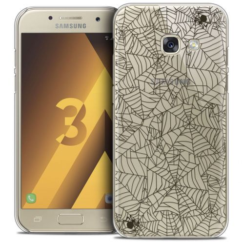 Coque Crystal Samsung Galaxy A3 2017 (A320) Extra Fine Halloween - Spooky Spider