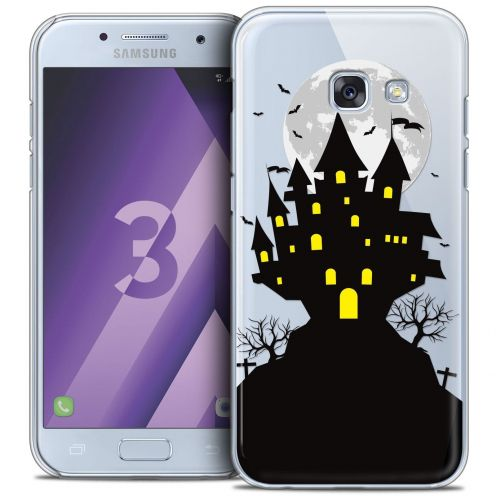 Coque Crystal Samsung Galaxy A3 2017 (A320) Extra Fine Halloween - Castle Scream