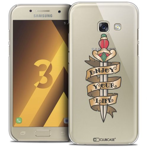 Coque Crystal Samsung Galaxy A3 2017 (A320) Extra Fine Tatoo Lover - Enjoy Life