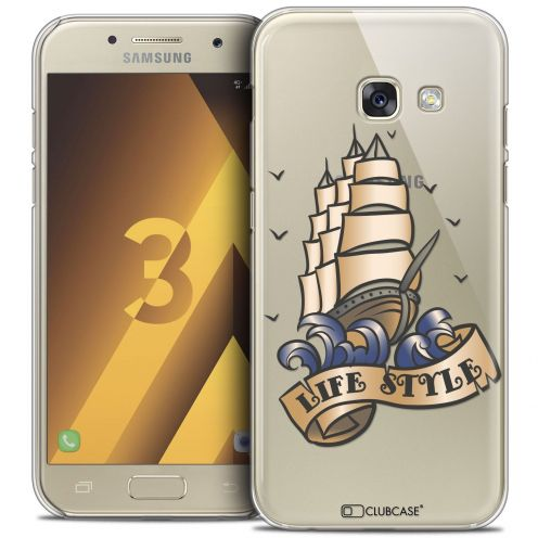 Coque Crystal Samsung Galaxy A3 2017 (A320) Extra Fine Tatoo Lover - Life Style
