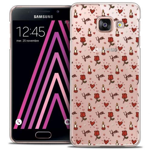 Coque Crystal Samsung Galaxy A3 2016 (A310) Extra Fine Love - Bougies et Roses