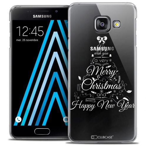 Coque Crystal Samsung Galaxy A3 2016 (A310) Extra Fine Noël 2016 - Calligraphie