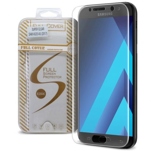 Protection d'écran Verre trempé Samsung A5 2017 (A520) Full Cover Ultra Clear – 9H HD 0.33mm 2.5D