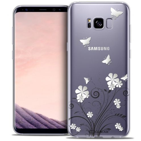 Coque Crystal Gel Samsung Galaxy S8 (G950) Extra Fine Summer - Papillons