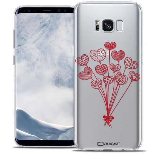Coque Crystal Gel Samsung Galaxy S8 (G950) Extra Fine Love - Ballons d'amour