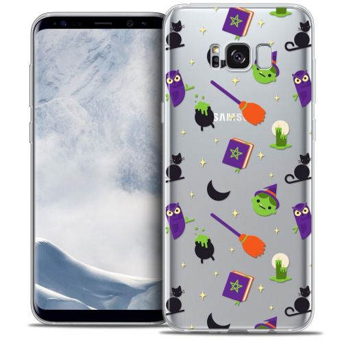 Extra Slim Crystal Gel Samsung Galaxy S8 (G950) Case Halloween Witch Potter
