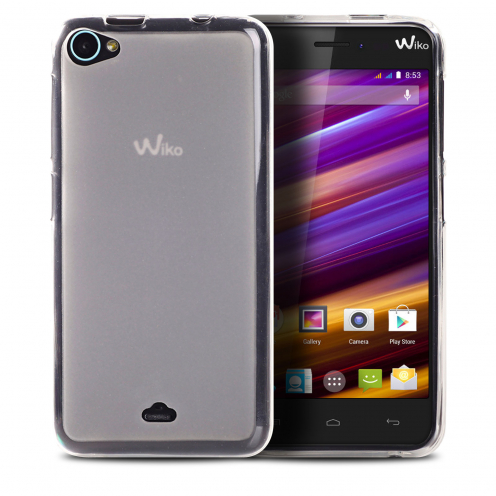 Frozen Ice Extra Slim soft white case for Wiko Jimmy