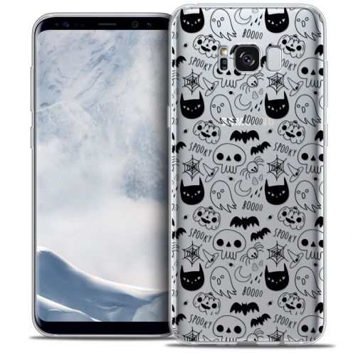 Coque Crystal Gel Samsung Galaxy S8+/ Plus (G955) Extra Fine Halloween - Spooky