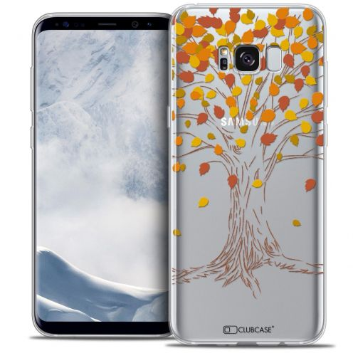Coque Crystal Gel Samsung Galaxy S8+/ Plus (G955) Extra Fine Autumn 16 - Tree