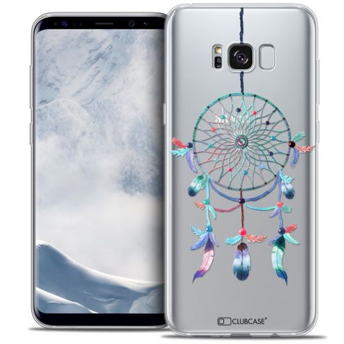 Coque Crystal Gel Samsung Galaxy S8+/ Plus (G955) Extra Fine Dreamy - Attrape Rêves Rainbow