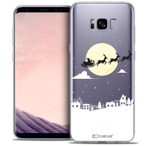 Coque Crystal Gel Samsung Galaxy S8+/ Plus (G955) Extra Fine Noël 2016 - Flying Stanta