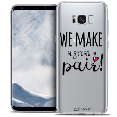 Coque Crystal Gel Samsung Galaxy S8+/ Plus (G955) Extra Fine Love - We Make Great Pair