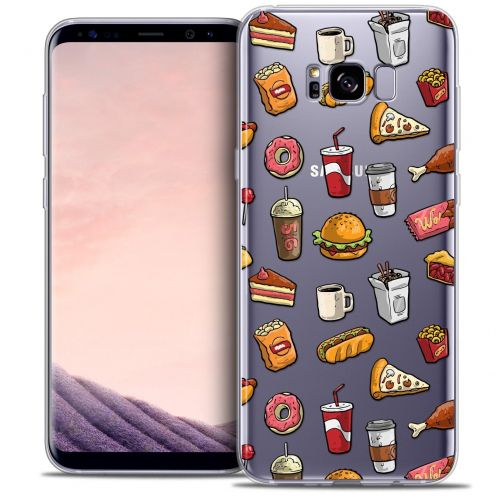 Coque Crystal Gel Samsung Galaxy S8+/ Plus (G955) Extra Fine Foodie - Fast Food
