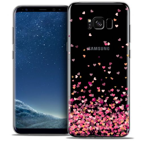 Coque Crystal Gel Samsung Galaxy S8+/ Plus (G955) Extra Fine Sweetie - Heart Flakes