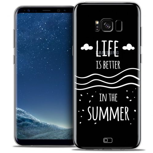Coque Crystal Gel Samsung Galaxy S8+/ Plus (G955) Extra Fine Summer - Life's Better