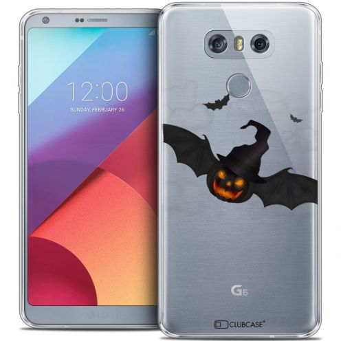Coque Crystal Gel LG G6 Extra Fine Halloween - Chauve Citrouille