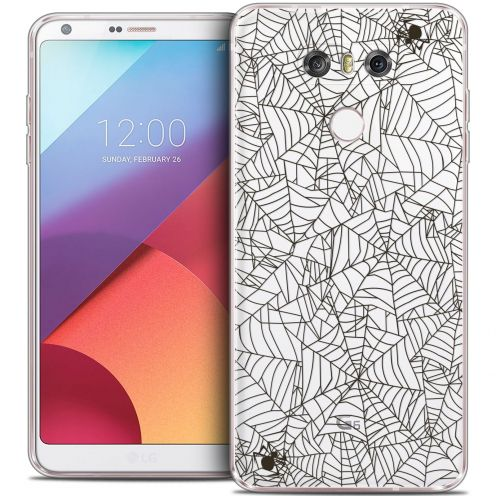 Coque Crystal Gel LG G6 Extra Fine Halloween - Spooky Spider