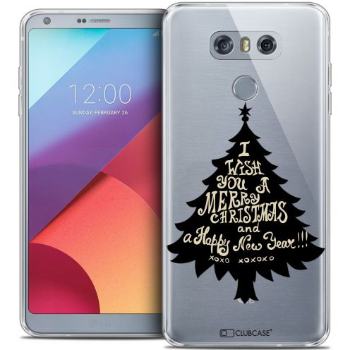 Extra Slim Crystal Gel LG G6 Case Noël 2016 XOXO Tree