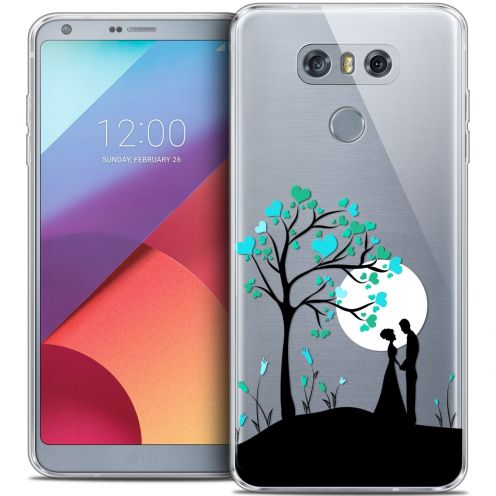 Extra Slim Crystal Gel LG G6 Case Love Sous l'arbre