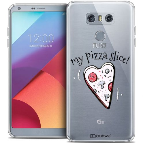 Extra Slim Crystal Gel LG G6 Case Love My Pizza Slice