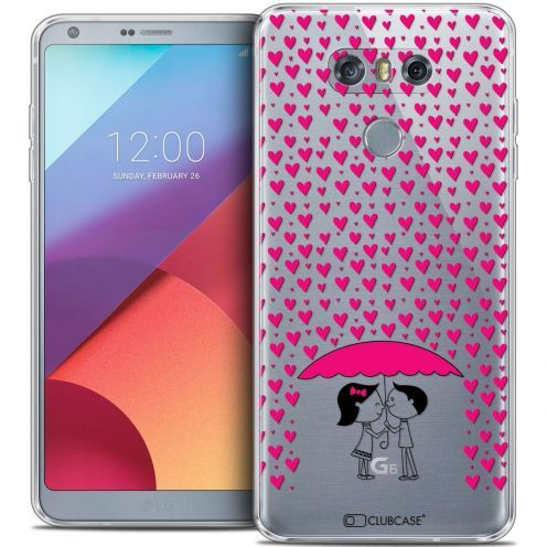 Extra Slim Crystal Gel LG G6 Case Love Pluie d'Amour