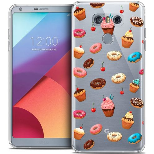 Extra Slim Crystal Gel LG G6 Case Foodie Donuts
