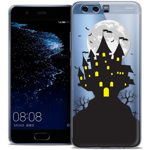 Coque Crystal Gel Huawei P10 Extra Fine Halloween - Castle Scream