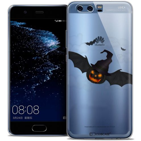 Coque Crystal Gel Huawei P10 Extra Fine Halloween - Chauve Citrouille