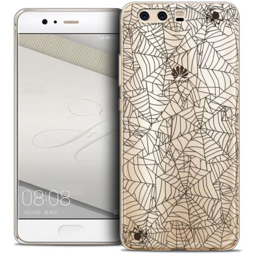 Coque Crystal Gel Huawei P10 Extra Fine Halloween - Spooky Spider