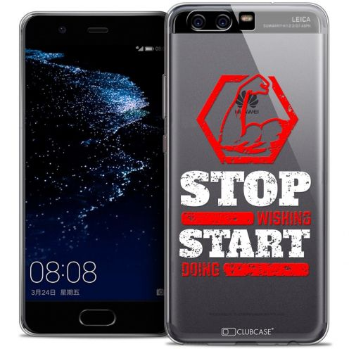 Coque Crystal Gel Huawei P10 Extra Fine Quote - Start Doing