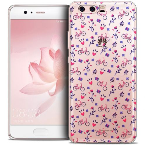 Coque Crystal Gel Huawei P10 Extra Fine Love - Bicycle