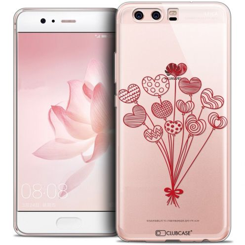 Coque Crystal Gel Huawei P10 Extra Fine Love - Ballons d'amour