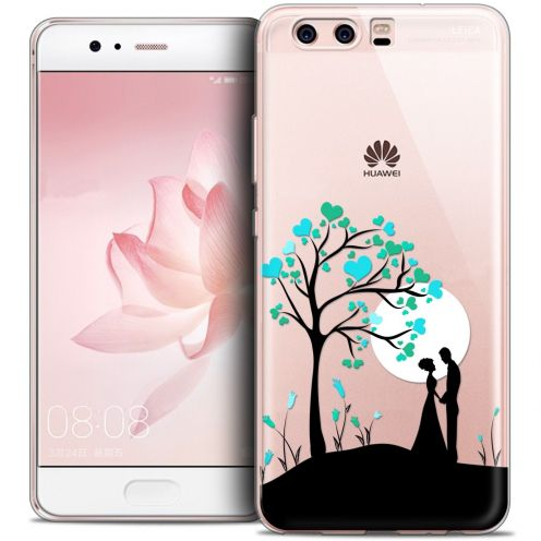 Coque Crystal Gel Huawei P10 Extra Fine Love - Pluie d'Amour