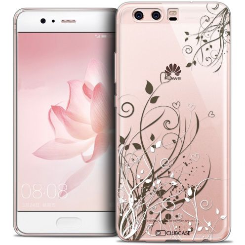 Coque Crystal Gel Huawei P10 Extra Fine Love - Hearts Flowers