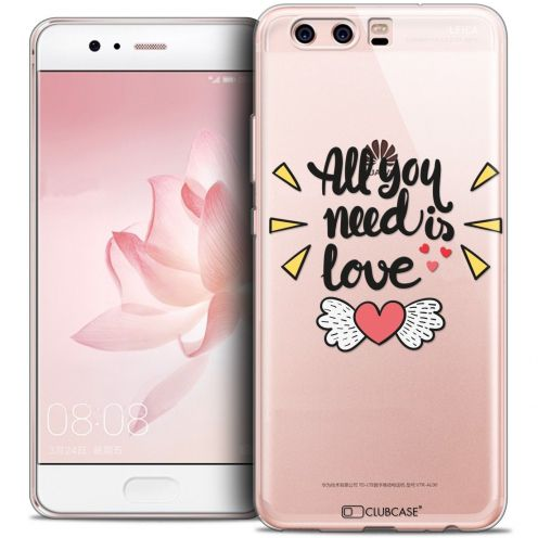Coque Crystal Gel Huawei P10 Extra Fine Love - All U Need Is