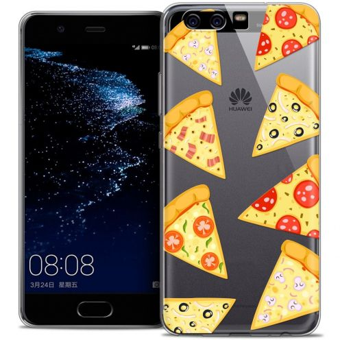 Coque Crystal Gel Huawei P10 Extra Fine Foodie - Pizza
