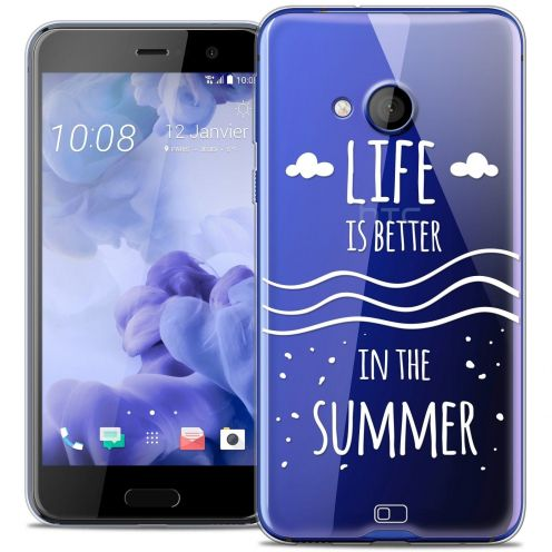 Coque Crystal Gel HTC U Play Extra Fine Summer - Life's Better