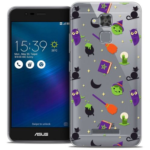 "Coque Crystal Gel Asus Zenfone 3 Max ZC520TL (5.2"") Extra Fine Halloween - Witch Potter"