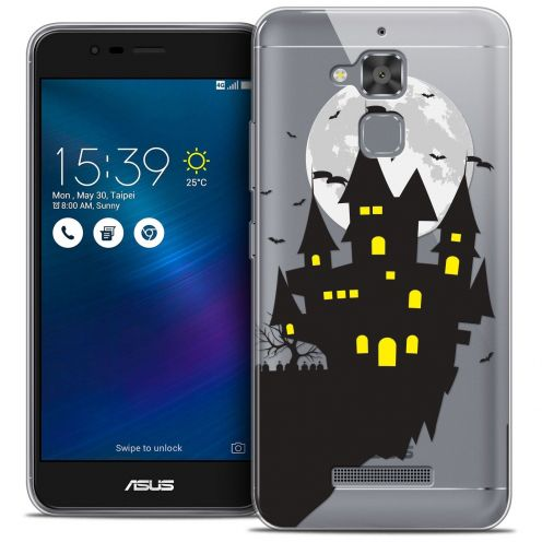"Extra Slim Crystal Gel Asus Zenfone 3 Max ZC520TL (5.2"") Case Halloween Castle Dream"