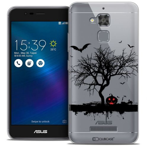 "Extra Slim Crystal Gel Asus Zenfone 3 Max ZC520TL (5.2"") Case Halloween Devil's Tree"