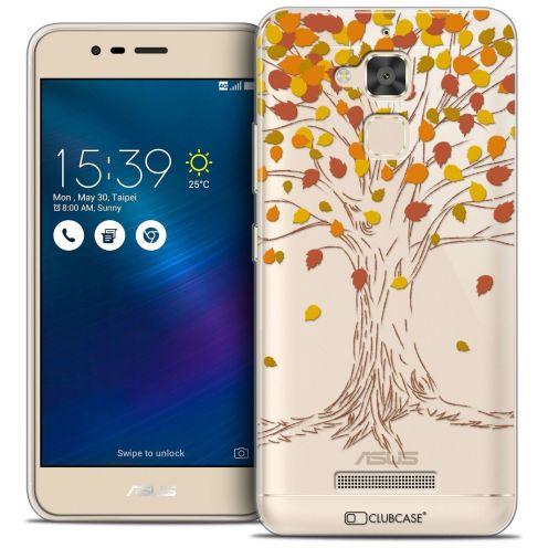 "Coque Crystal Gel Asus Zenfone 3 Max ZC520TL (5.2"") Extra Fine Autumn 16 - Tree"