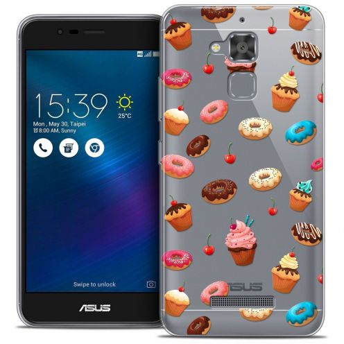 """Coque Crystal Gel Asus Zenfone 3 Max ZC520TL (5.2"""") Extra Fine Foodie - Donuts"""