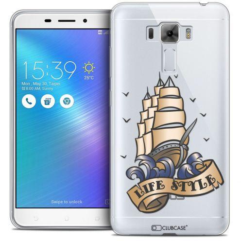 """Coque Crystal Gel Asus Zenfone 3 Laser ZC551KL (5.5"""") Extra Fine Tatoo Lover - Life Style"""
